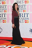 Jessie Ware arriving at The Brit Awards 2015 (Brits) held at the O2 - Arrivals, London. 25/02/2015 Picture by: James Smith / Featureflash