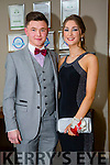 Daniel Kinsella and Clodagh Fitzgerald at the CBS The Green Students' Debs Ball at the Ballyroe Heights Hotel on Saturday night