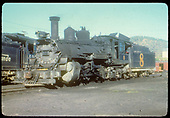 D&amp;RGW #453 K-27 (numbered 8) possibly in Durango.<br /> D&amp;RGW  Durango ?, CO