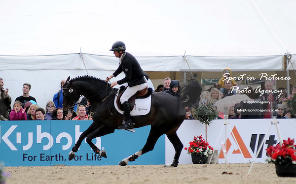 SHOW JUMPING.Class 148. The Royal Windsor Grand Prix. Winner, Shane Breen ridding Ballon, owned by Breen Equestrian Ltd 12/05/2013. MANDATORY Credit Peter Reynolds/SIP - NO UNAUTHORISED USE - 07837 394578