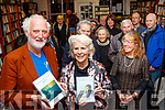 Breanndán Ó Beaglaoich launching the Book by the late Danny Sheehy translated by Camilla Dinkel at her bookshop in Green Street, Dingle last Saturday night.