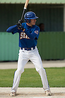 22 May 2009: Matthieu Brelle Andrade of Senart is seen at bat during the 2009 challenge de France, a tournament with the best French baseball teams - all eight elite league clubs - to determine a spot in the European Cup next year, at Montpellier, France. Senart wins 7-1 over Montpellier.