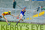 Kilmoyley in action against  Lixnaw Kerry County Senior Hurling championship Final between Kilmoyley and Lixnaw at Austin Stack Park on Sunday.