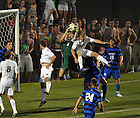 Aug. 25, 2012; Men's Soccer vs Duke; Grant Van De Casteele (20)..Photo by Matt Cashore/University of Notre Dame