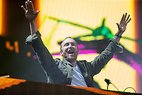 David Guetta performs David Guetta performs during The New Look Wireless Music Festival at Finsbury Park, London, England on Sunday 05 July 2015. Photo by Andy Rowland.