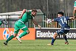 11.01.2019, Bidvest Stadion, Braampark, Johannesburg, RSA, FSP, SV Werder Bremen (GER) vs Bidvest Wits FC (ZA)<br /> <br /> im Bild / picture shows <br /> Philipp Bargfrede (Werder Bremen #44) im Duell / im Zweikampf mit Daylon Kayton Claasen (Bidvest Wits FC #14), <br /> <br /> Foto © nordphoto / Ewert
