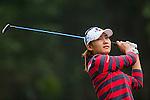 Min-Sun Kim of Korea in action during the Hyundai China Ladies Open 2014 on December 10 2014 at Mission Hills Shenzhen, in Shenzhen, China. Photo by Xaume Olleros / Power Sport Images