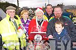 Mike Furlong, Fiona O'Brien, Breda Daly, Tom Hurley, Matt Moynihan and Niall O'Brien all revved up for the Killarney Honda 50 rally in Killarney on Sunday