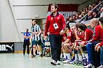 Stockholm 2013-11-10 Handboll Elitserien Hammarby IF - Eskilstuna Guif :  <br /> Eskilstuna Guif tr&auml;nare Kristjan Andreasson Kristj&aacute;n Andr&eacute;asson vid avbytarb&auml;nken under matchen <br /> (Foto: Kenta J&ouml;nsson) Nyckelord:  portr&auml;tt portrait