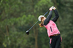 Song Yi Ahn of South Korea tees off at the 14th hole during Round 2 of the World Ladies Championship 2016 on 11 March 2016 at Mission Hills Olazabal Golf Course in Dongguan, China. Photo by Lucas Schifres / Power Sport Images