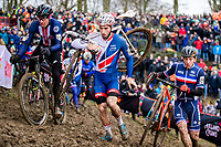 Picture by Alex Whitehead/SWpix.com - 04/02/2018 - Cycling - 2018 UCI Cyclo-Cross World Championships - Valkenburg, The Netherlands - Great Britain's Ian Field in action during the Elite Men's race.
