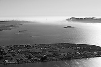 aerial photograph Treasure Island San Francisco