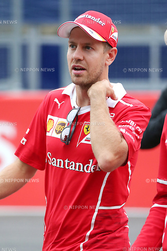 Sebastian Vettel, <br /> OCTOBER 5, 2017 - F1 : Japanese Formula One Grand Prix <br /> at Suzuka Circuit in Suzuka, Japan. (Photo by Sho Tamura/AFLO) GERMANY OUT