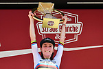 World Champion Annemiek van Vleuten (NED) Mitchelton-Scott wins the 2020 Strade Bianche Elite Women running 136km from Fortezza Medicea Siena to Piazza del Campo Siena, Italy. 1st August 2020.<br /> Picture: LaPresse/Gian Mattia D'Alberto   Cyclefile<br /> <br /> All photos usage must carry mandatory copyright credit (© Cyclefile   LaPresse/Gian Mattia D'Alberto)