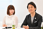 (L-R) Shoko Nakagawa, Takeshi Natsuno, <br /> MAY 22, 2017 : Mascot Selection Panel for The Tokyo Organising Committee of the Olympic and Paralympic Games holds its 1st meeeting in Tokyo, Japan. (Photo by AFLO)