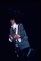 CHICAGO, ILLINOIS - APRIL 13, 1984: The Pretenders performing at The Aragon Ballroom in Chicago, Illinois on April 13,1984.<br /> CAP/MPI/GA<br /> ©GA/MPI/Capital Pictures