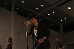 Bilal Performing at SummerStage Concert at Marcus Garvey Park Featuring Bilal and Vivian Green, Harlem NY