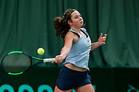 Wateringen, The Netherlands, March 16, 2018,  De Rhijenhof , NOJK 14/18 years, Nat. Junior Tennis Champ.  Danique Havermans (NED)<br />  Photo: www.tennisimages.com/Henk Koster