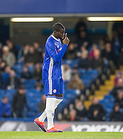 Kurt Zouma of Chelsea during the The Checkatrade Trophy match between Chelsea U23 and Oxford United at Stamford Bridge, London, England on 8 November 2016. Photo by Andy Rowland.