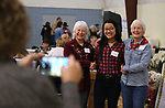 "From left, Cindy Mitchell, Lynne Roldao and Carly Peckham pose for Suzanne Peckham at the ""We Are Western"" event hosted by the Western Nevada College Foundation, in Carson City, Nev., on Friday, March 8, 2019. <br /> Photo by Cathleen Allison/Nevada Momentum"