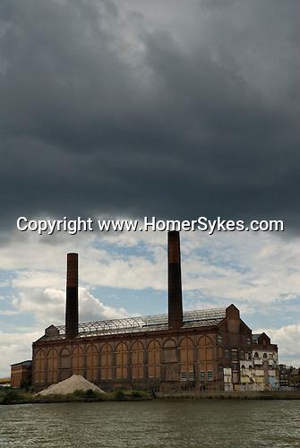 Chelsea Creek development site. The Lots Road Power Station. Lots Road Chelsea. London UK