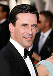 LOS ANGELES, CA. - September 20: Jon Hamm arrives at the 61st Primetime Emmy Awards held at the Nokia Theatre on September 20, 2009 in Los Angeles, California.