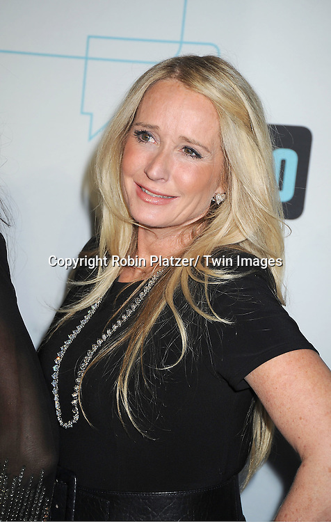 """Real Housewives of Beverly Hills""  Kim Richards attends the Bravo Upfront on April 4, 2012 at 548 West 22nd Street in New York City."