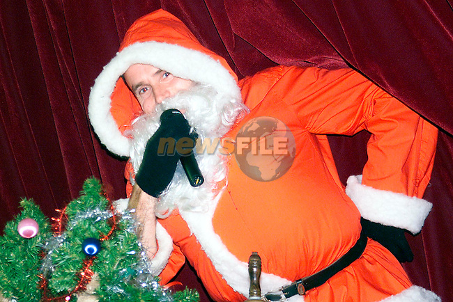 Santa at the table quiz in Termonfeckin National School..Picture: Paul Mohan/Newsfile