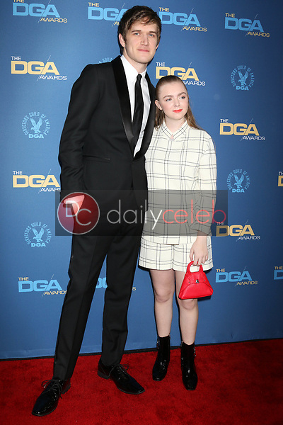 Bo Burnham, Elsie Fisher<br /> at the 71st Annual Directors Guild Of America Awards, Ray Dolby Ballroom, Hollywood, CA 02-02-19<br /> David Edwards/DailyCeleb.com 818-249-4998