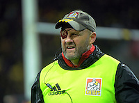 Chiefs assistant coach Andrew Strawbridge during the Super Rugby semifinal match between the Hurricanes and Chiefs at Westpac Stadium, Wellington, New Zealand on Saturday, 30 July 2016. Photo: Dave Lintott / lintottphoto.co.nz
