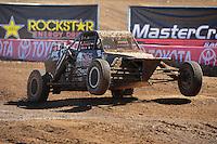 Apr 16, 2011; Surprise, AZ USA; LOORRS driver Justin Smith (19) during round 3 at Speedworld Off Road Park. Mandatory Credit: Mark J. Rebilas-.
