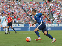 Nashville, Tenn. - Friday, July 3, 2015: The US Men's National team go up 2-0 over Guatemala in an international friendly match at Nissan stadium.