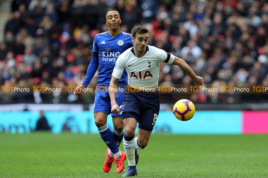 Harry Winks of Tottenham Hotspur during Tottenham Hotspur vs Leicester City, Premier League Football at Wembley Stadium on 10th February 2019