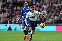 Harry Winks of Tottenham Hotspur during Tottenham Hotspur vs Leicester City, Premier League Football at Wembley Stadium on 10th February 2019