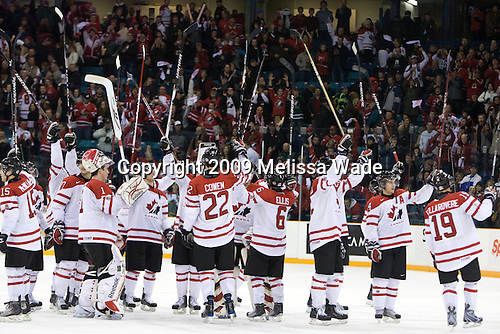 - Team Canada defeated Team USA 5-4 (SO) on Thursday, December 31, 2009, at the Credit Union Centre in Saskatoon, Saskatchewan, during the 2010 World Juniors tournament.