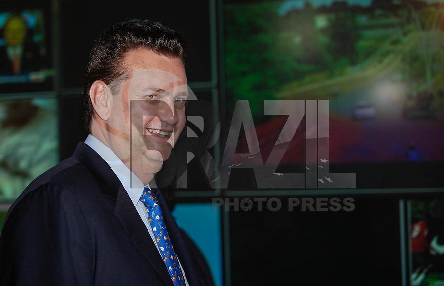 SAO PAULO, SP, 02 AGOSTO 2012 - ELEICOES 2012 - DEBATE BAND - PREFEITURA DE SP - Prefeito de Sao Paulo, Gilberto Kassab  durante debate da Tv Bandeirantes de Sao Paulo, nesta quinta-feira, na regiao sul da capital paulista. (FOTO: VANESSA CARVALHO / BRAZIL PHOTO PRESS).