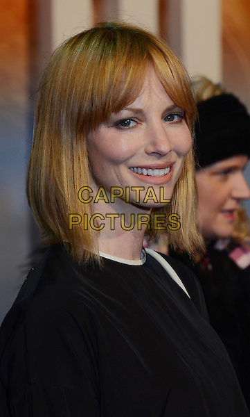 Sienna Guillory.'The Life Of Pi' UK film premiere, Empire cinema, Leicester Square, London, England.3rd December 2012.headshot portrait black side .CAP/WIZ.© Wizard/Capital Pictures.