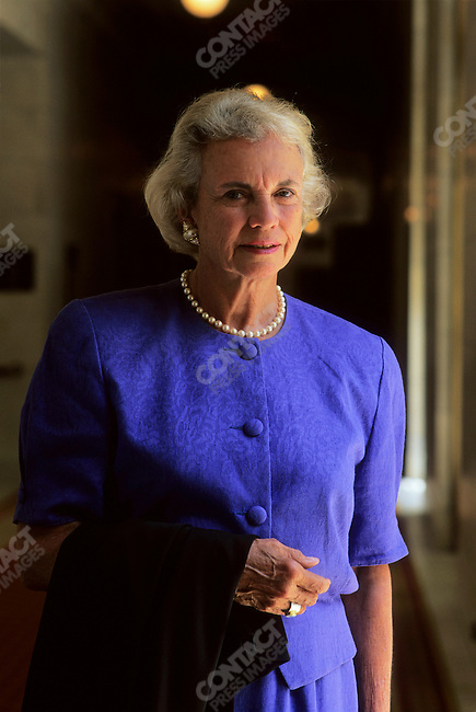 US Supreme Court Justice Sandra Day O'Connor. Washington, D.C., USA,  June 1997