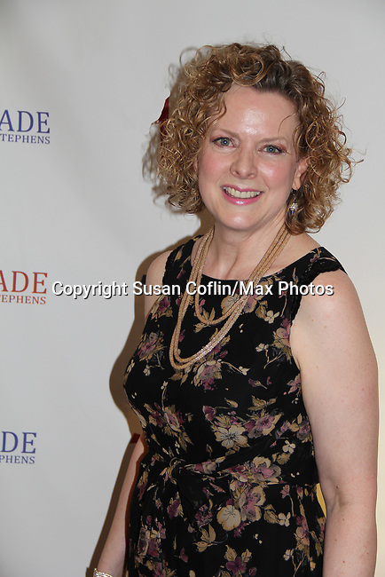 Katherine Leask in The Crusade of Connor Stephens - One Family Under God, Divisible. on opening night at Jerry Orbach Theatre at the Snapple Theatre Center, New York City, New York on June 26, 2017. (Photo by Sue Coflin/Max Photos)