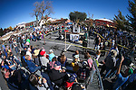 Hundreds of spectators watch the annual Nevada Day rock drilling competition in Carson City, Nev. on Saturday, Oct. 29, 2016. <br />Photo by Cathleen Allison