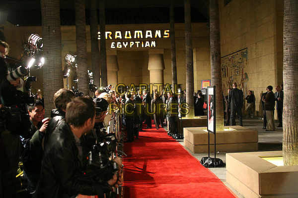 "ATMOSPHERE.Hollywood, California. Atmosphere. Los Angeles Premiere of ""The Good German"" at the Egyptian Theatre, Hollywood, California, USA..December 4th, 2006.red carpet.CAP/ADM/BP.©Byron Purvis/AdMedia/Capital Pictures"