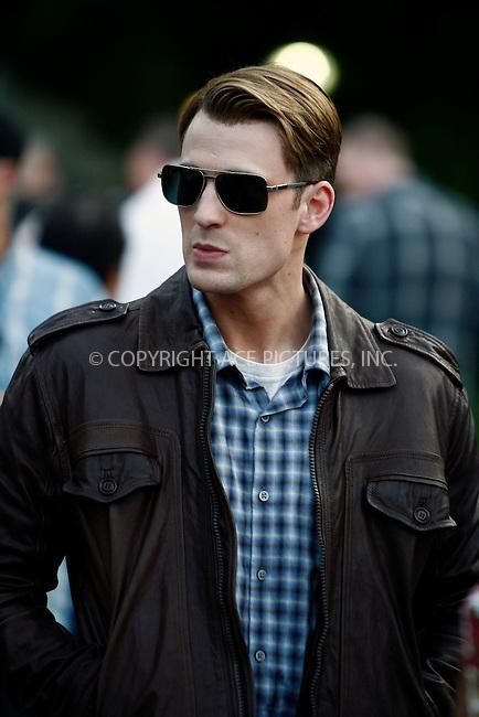 WWW.ACEPIXS.COM . . . . .  ....September 2 2011, New York City....Actor Chris Evans on the Central Park set of the new Movie 'The Avengers' on September 2 2011 in New York City....Please byline: CURTIS MEANS - ACE PICTURES.... *** ***..Ace Pictures, Inc:  ..Philip Vaughan (212) 243-8787 or (646) 679 0430..e-mail: info@acepixs.com..web: http://www.acepixs.com