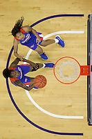 SEATTLE, WA - DECEMBER 18: Savannah State's Caprisha Treadwell against Washington.  Washington won 87-36 over Savannah State at Alaska Airlines Arena in Seattle, WA.