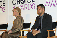 BEVERLY HILLS, CA - NOVEMBER 15: Wilmer Valderrama, Piper Perabo attends the People's Choice Awards Nominations Press Conference at The Paley Center for Media on November 15, 2016 in Beverly Hills, California. (Credit: Parisa Afsahi/MediaPunch).