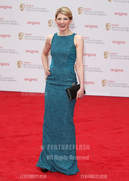Jodie Whittaker arriving for the TV BAFTA Awards 2013, Royal Festival Hall, London. 12/05/2013 Picture by: Alexandra Glen / Featureflash