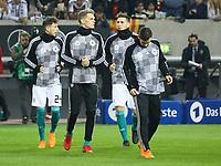 Leon Goretzka (Deutschland, Germany), Matthias Ginter (Deutschland Germany), Marvin Plattenhardt (Deutschland Germany), Niklas Süle (Deutschland Germany) - 23.03.2018: Deutschland vs. Spanien, Esprit Arena Düsseldorf