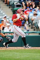 Altoona Curve infielder Justin Howard (18) during game against the Trenton Thunder at ARM & HAMMER Park on July 24, 2013 in Trenton, NJ.  Altoona defeated Trenton 4-2.  Tomasso DeRosa/Four Seam Images