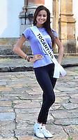 OURO PRETO, MG, 20.09.2013 - MISS BRASIL 2013 - Tocantins, Wiolana Brito candidata a Miss Brasil 2013 durante visita a cidade historica de Ouro Preto a 100 km de Belo Horizonte. (Foto: Eduardo Tropia / Brazil Photo Press)