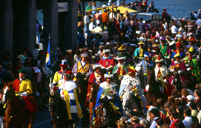 Sechselauten Celebration, Zurich, Switzerland