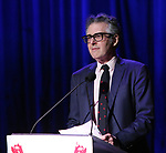 Ira Glass on stage during the Vineyard Theatre Gala 2018 honoring Michael Mayer at the Edison Ballroom on May 14, 2018 in New York City.